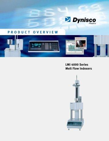 LMI 4000 Melt Flow Indexer - Sensors Incorporated
