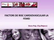 FACTORI DE RISC CARDIOVASCULAR LA FEMEI - Cardioportal