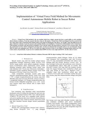 Implementation of Virtual Force Field Method for Movements Control ...
