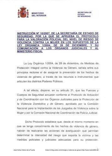 José Carlos Vilorio de la Fuente Visita mi blog sobre ... - Matrix666