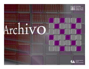 Ponencia - Archivo General de la Nación