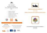 Guide du Partenariat Adhérent - Saint-Emilion