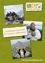 download the brochure - Charity Challenge