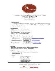 VARŽYBŲ NUOSTATAI - Lietuvos žirginio sporto federacija
