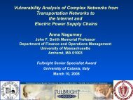 Slides (pdf) - The Virtual Center for Supernetworks - University of ...