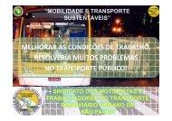Mobilidade e Transporte Sustentáveis - Rede Nossa São Paulo