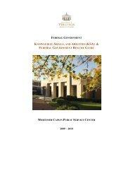 KNOWLEDGE, SKILLS, AND ABILITIES (KSA) & - University of ...