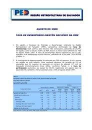 Agosto - Ministério do Trabalho e Emprego