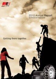 Final Sameer Annual Report 2010 - Sameer Africa Limited