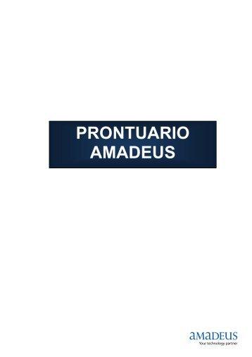 PRONTUARIO AMADEUS