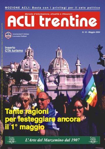 Acli Trentine MAGGIO 2004