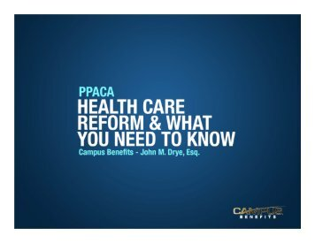 Patient Protection and Affordable Health Care Act