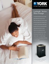 York Latitude Series GHGD 13+ SEER Heat Pumps from ... - UPGNet