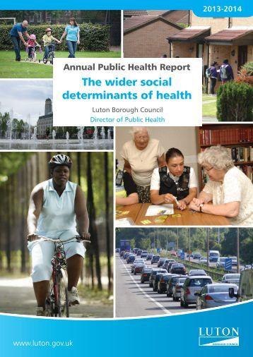 Annual Public Health Report 2013-14