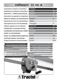 rollbeam- EN 795 -B - Tractel