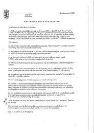 Weigering van de aanvraag om bouwvergunning d.d 29 maart 2010