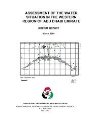 Assessment of the Water Situation in the Western Region