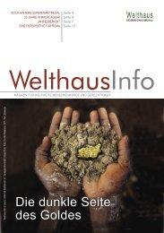 Goldrausch (Juni - Sep. 2009) - Welthaus Graz