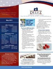May 2011 - DeLuz Family Housing