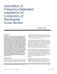 Calculation of Frequency-Dependent Impedance ... - TE Connectivity