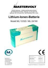 Lithium-Ionen-Batterie - Yabonet Yachtshop