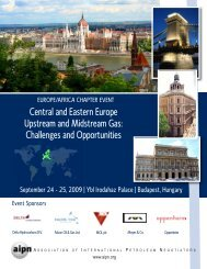 Central and Eastern Europe Upstream and Midstream Gas ... - AIPN