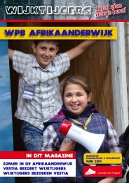 WPB AFRIKAANDERWIJK - Wijktijgers