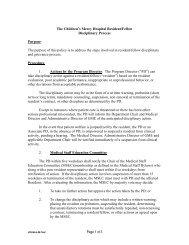 """Pediatric Residency Program Committee (""""PRPC"""") - Children's ..."""