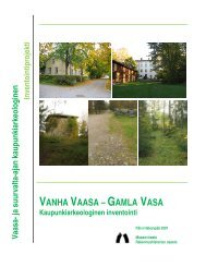 VANHA VAASA – GAMLA VASA - Museovirasto