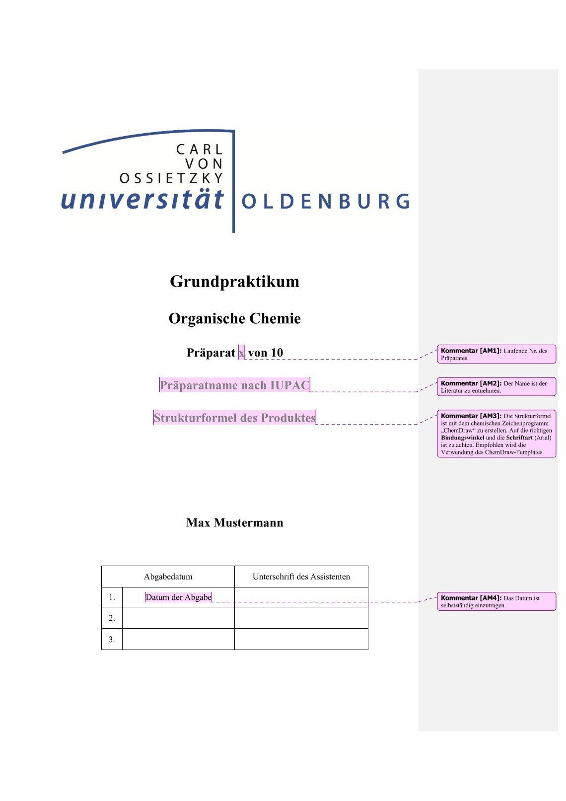 Erfreut Anorganische Chemie Vorlage Galerie - Entry Level Resume ...