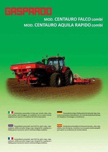 depliant CENTAURO.indd - Maschio Deutschland GmbH