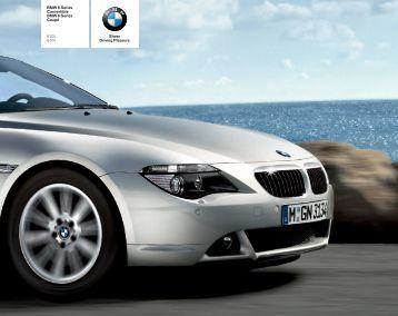 BMW 6er Internetkatalog 02_2006