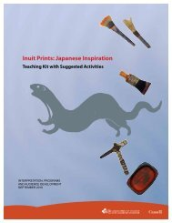 Inuit Prints: Japanese Inspiration - Canadian Museum of Civilization