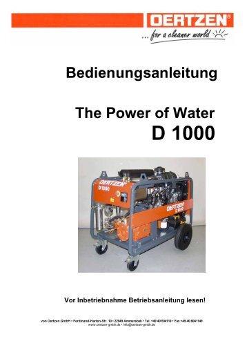D 1000 - von Oertzen GmbH