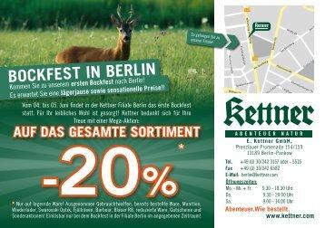 BocKfEst in BErlin - Kettner