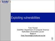 Exploiting vulnerabilities - Secure Application Development