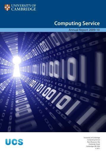 Review 2009-10 - University of Cambridge Computing Service