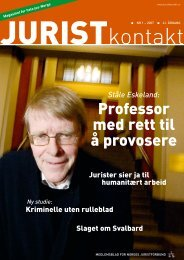 Juristkontakt 1 - 2007