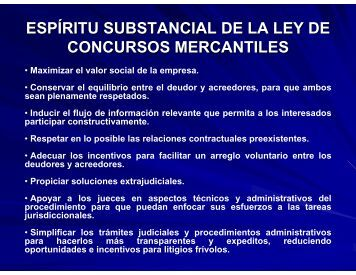 Solicitud y Demanda de concurso Mercantil - Instituto Federal de ...