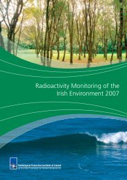 Radioactivity Monitoring of the Irish Environment 2007