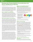 FOCUS Newsletter, Fall 2010 - Child Care Services Association - Page 4