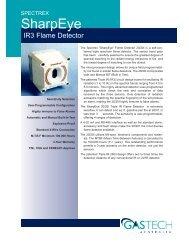 IR3 Flame Detector - Eoss.com
