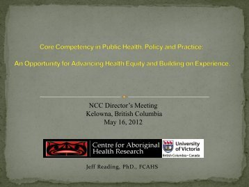 Core Competency in Public Health, Policy and Practice