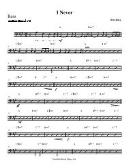 Finale PrintMusic 2009 - [I Never - 005 Bass] - David Rothstein Music