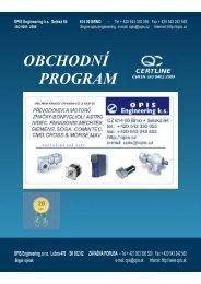 Obchodní program - OPIS Engineering