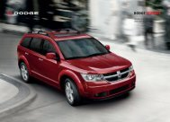 DODGE JOURNEy - Wiesenthal