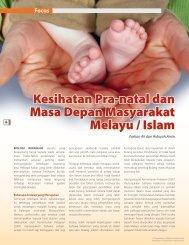 Kesihatan Pra-natal dan Masa Depan Masyarakat Melayu / Islam