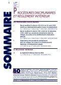 procédures disciplinaires et règlement intérieur - Cndp - Page 2