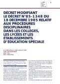 procédures disciplinaires et règlement intérieur - Cndp - Page 7