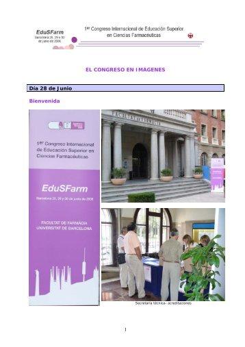 Imágenes del congreso - Publicacions i Edicions de la Universitat ...